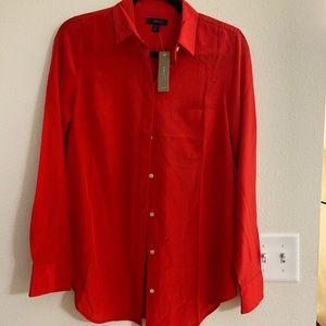 J Crew Button-up shirt in Re-Imagined Silk